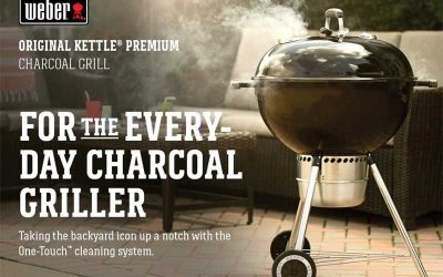 Weber 14401001 Original Kettle Premium Charcoal Grill Overview