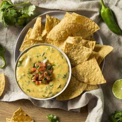 Smoked Queso Dip